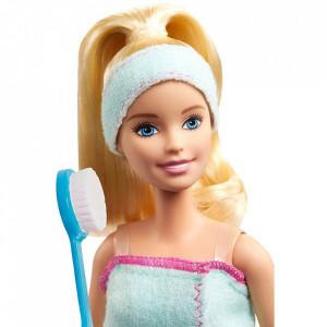 Set Barbie by Mattel Wellness and Fitness papusa cu figurina si accesorii GJG55