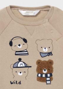 Trening ECOFRIENDS cu ursuleți pentru nou-născut băiat, Mayoral