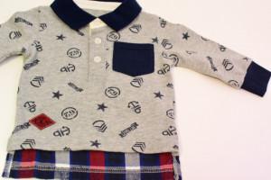 Tricou polo pentru baieti Ido din bumbac