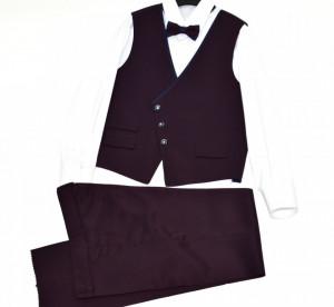 Costum elegant cu vestă pentru copii