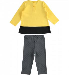 Costum fete în culori de galben și negru, iDO