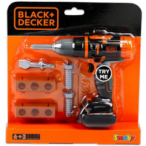Jucarie Smoby Bormasina mecanica Black & Decker