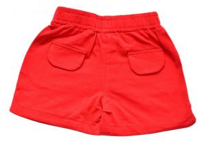 Pantalon , IDO , rosu , bumbac