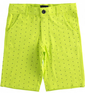 Pantalon verde neon de baieti din bumbac IDO