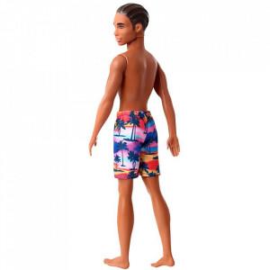Papusa Barbie by Mattel Fashion and Beauty Ken la plaja GHW44