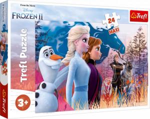 Puzzle Trefl Maxi Disney Frozen 2, Calatorie magica 24 piese