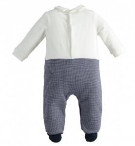 Salopetă bebe nou născut băiat, iDO