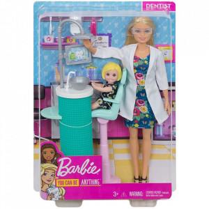 Set Barbie by Mattel Careers Dentista