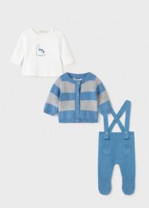 Set din 3 piese ECOFRIENDS pentru nou-născut băiat, Mayoral