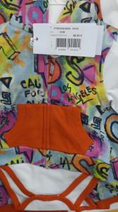 Trening cu vesta bady si pantalon multicolor Guess
