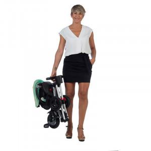 Tricicleta ultrapliabila Qplay Nova verde menta