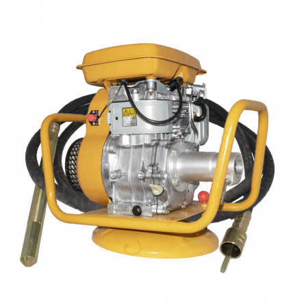 EY20 vibrator beton pe benzina + lance de 35mm*6m