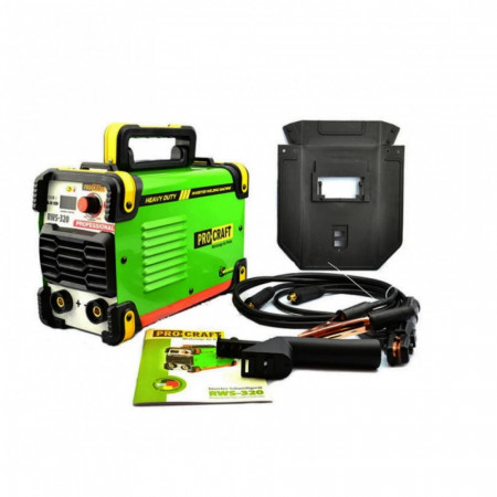 PROCRAFT RWS320 invertor de sudura , produsul contine taxa timbru verde 2.5 Ron, 4,8 kg