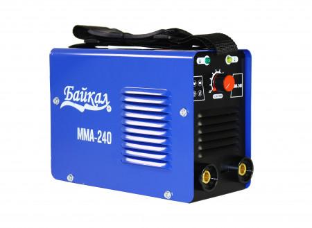 Invertor sudura Baikal MMA-240, 240A, 1.6-5.0 mm, 220V, accesorii incluse, albastru