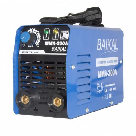 Aparat de Sudura Tip Invertor Baikal 300A, 300Ah, MMA, 1.6-5mm, 220V