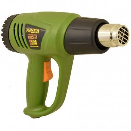 PH2200E heat gun PROCRAFT, produsul contine taxa timbru verde 2,5 Ron, 0.92 kg