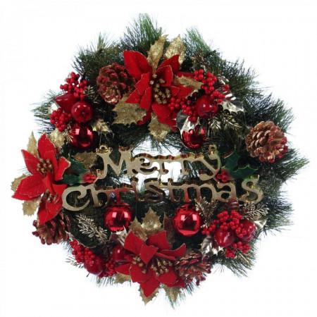 Coronita pentru craciun model Merry Christmas