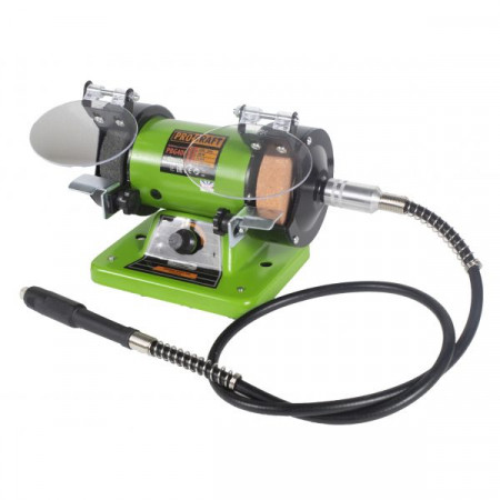 Polizor de banc cu gravor, 400 W, 10000 RPM, 75 mm, Procraft PBG 400