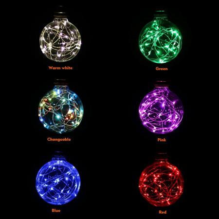 Bec cu luminite colorate,Christmas Light