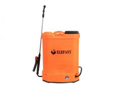 Pompa stropit gradina electrica Elefant, 18 litri, acumulator, 5.5 bar, regulator, lance 85 cm, 3 duze