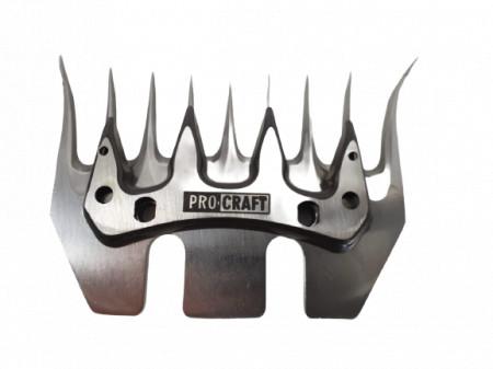 Gheara cu 9 dinti accesoriu aparat de tuns oi Procraft