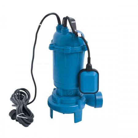 Pompa drenaj cu tocator Aquatic Elefant WQCD10-10-0.75F, 1 CP, 180 L/min, 10 metri