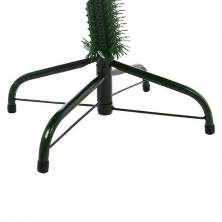 Brad Artificial de Craciun, Aspect Verde Natural, 180 cm + Suport Metalic Cadou