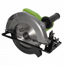 Fierastrau circular ProCraft KR1400, 1.4 kW, 5000 rpm, produsul contine taxa timbru verde 2.5 ron