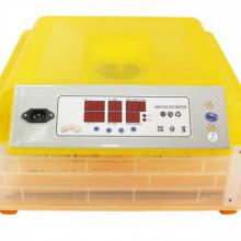 Incubator automat 48 oua gaina /132oua prepelita, sistem automat de intoarcere, control al umiditatii si al temperaturii Micul Fermier