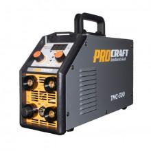 Invertor Plasma Procraft TMC 300, 3 in 1, MMA, TIG + Accesorii, Gama Profesionala
