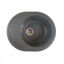 MIXXUS HB8311-G228 GRI, chiuveta ovala bucatarie granit