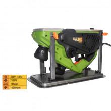 Rindea Electrica cu masa Procraft PE 2150, 2.1 kW, 16000 rpm, 2 cutite + sac colectare