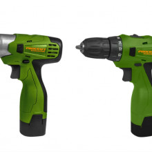 Set autofiletanta Procraft PA168 cu acumulator si pistol cheie cu impact cu acumulator Procraft