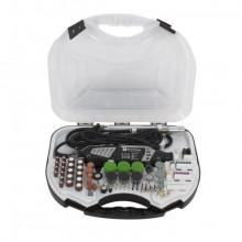 Set Gravor Elprom EMG-450-211, 450 W, 30000 rpm, 211 piese + Prelungitor flexibil