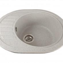 Chiuveta ovala bucatarie granit, MIXXUS HB8311-G319 NISIP