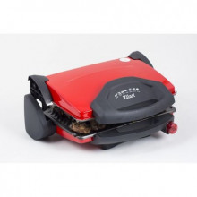 Sandwich-maker mare Zilan ZLN-9911, Putere 2000 W, Rosu, Placi antiaderente model grill, Capacitate 4 sandwich-uri