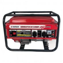 Generator pe Benzina Elefant ZH 3500, Monofazat, 2.8 kW, 230 V, 1 Cilindru, 4 timpi, Racire cu aer, 7 CP