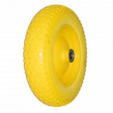 Roata poliuretanic cu rulment + AX 20X93 mm 350-8