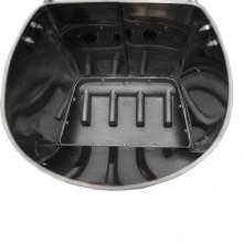 Masina de tencuit tavane pneumatica, din inox, model Premium cu duze, Detoolz