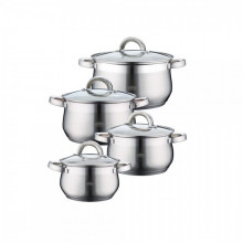 SET CRATITE INOX CU CAPAC 8P (2.1/2.9/3.9/5.1L) PH-15760