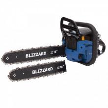 Drujba Blizzard Profesionala, 4CP , 52cmc, 2 Lame + 2 Lanturi