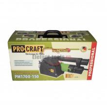 Procraft PM1700-150 freza de canelat , produsul contine taxa timbru verde 2.5 Ron, 10.1 kg