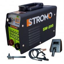 Aparat de sudura STROMO SW295 MMA cu valiza, masca automata, palmari, electrozi, accesorii incluse