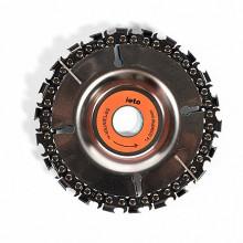 Disc cu lant 100 mm pentru polizor unghiular Micul Fermier