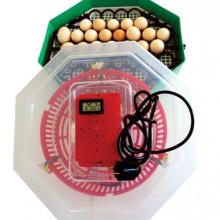 Incubator electric cu dispozitiv de intoarcere si termostat 41 oua gaina - 74 oua prepelita