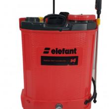 Pompa stropit electrica Elefant 14 Litri, 5 Bar, reglaj presiune, vermorel cu baterie acumulator 12V