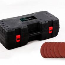 DZ-C206 Slefuitor pentru pereti pliabil cu aspirator si LED 750W Ø225mm