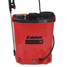 Pompa de stropit electrica Elefant SE18L, Volum 18l, 12V/8Ah, 3 tipuri de pulverizare