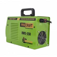 RWS350 invertor de sudura PROCRAFT, produsul contine taxa timbru verde 2.5 Ron, 5,8 kg