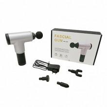 Aparat de masaj Profesional cu Vibromasaj, portabil cu acumulator 8,4V inclus, 4 capete interschimbabile, 6 Trepte de viteza Putere 24W